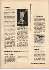 1967 PAPER AD Revell Toy Model Apollo 1/48 Scale Article Ben Cooper Costumes