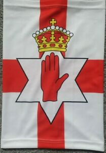 Ulster  flag Snood / Face Mask    Northern Ireland  Loyalist RE HAND