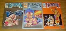 BlackMask #1-3 FN/VF complete series - eastern comics  pro wrestling manga set 2
