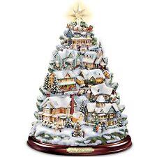 THOMAS KINKADE MUSICAL & LIGHTED SEASON OF SONG CHRISTMAS TREE HOLIDAY DECOR NEW