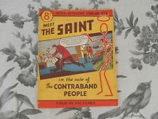 More details for super detective picture library #1 the saint fine