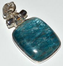 Apatite 925 Sterling Silver Pendant Jewelry JJ11281