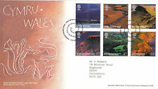 15 June 2004 Cymru Wales Pictorial Definitives Rm First Day Cover Llanfair Shs a