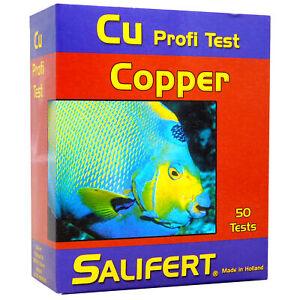 SALIFERT COPPER Cu PROFI TEST KIT MARINE FISH REEF AQUARIUM FISH TANK
