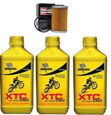 KIT TAGLIANDO BARDAHL XTC 10W50 4 T CROSS + FILTRO OLIO KTM SX-F 250 2010