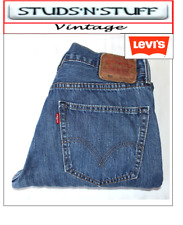 "VINTAGE LEVIS 505'S REGULAR FLEESE LINED JEANS W31"" L28"" APROX SIZE UK 10 /12 T2"