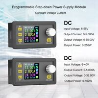 Step-down Power Supply Module Color LCD Display Constant Buck Converter
