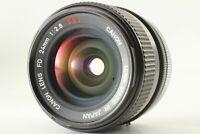 "[Rare""O""EXC+5] Canon FD 24mm f/2.8 S.S.C. SSC Wide Angle MF Lens JAPAN #0027"
