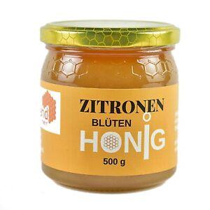 Zitronenblütenhonig aus Spanien, 500 g fruchtig frischer Honig