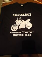 502f11e67 Suzuki Gsr 750 Owners Club Uk T-shirt - Size Large