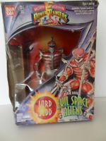 MIGHTY MORPHIN Power Rangers Deluxe Evil Space Aliens LORD ZEDD 1994. VINTAGE
