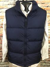Duluth Trading Down Puffer Vest Large Blue Outdoor