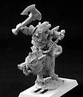 1 x DURTHEN BOARMASTER -WARLORD REAPER figurine miniature rpg jdr sanglier 14451