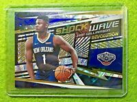ZION WILLIAMSON PRIZM ROOKIE REFRACTOR  2019-20 Revolution FRACTAL SHOCK WAVE SP
