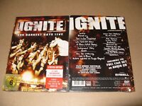 Ignite  Our Darkest Days (Live/Live Recording/CD+DVD, 2012) New & Sealed