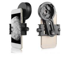 Black Smart Phone Adapter Mount Binocular Monocular Spotting Scope Telescope New
