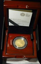 More details for sovereign £25 2020 gold proof queen's beasts white horse hanover 1/4 ounce .999