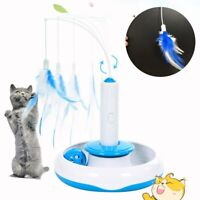 Cat Toy Cat Puzzle Electric Automatic Rotating Play Interactive IQ Training Toys
