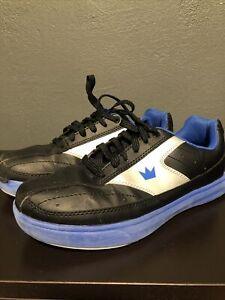 Brunswick RENEGADE Boys Bowling Shoes Color Black & Blue Size 6