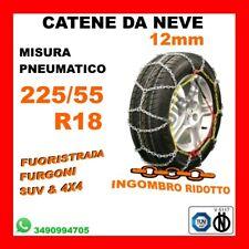 Catene Neve Power Grip 12mm SUV Gruppo 250 Gomme 235//55r19 Land Rover R R Evoque