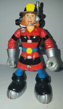 Fisher Price Rescue Heroes Wendy Waters Firefighter Toy Euc