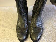 Tony Lama El Rey Ostrich Boots