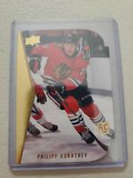 Philipp Kurashev 2020-21 Upper Deck Series 2 Die Cut Tribute Rookie RC RDT-16