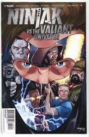 Ninjak Vs The Valiant Universe 4 2018 NM 1:50 Barry Kitson Variant