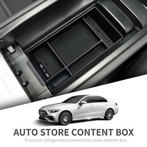 for Mercedes-Benz C-Class 2021-2022 W206 AMG Central Console Armrest Box Storage