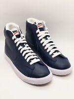 Nike BLAZER MID GS (895850 400) Youth Size 6Y Binary Blue/ White-Black