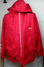 Mens Vintage Arsenal Rain Jacket Size M