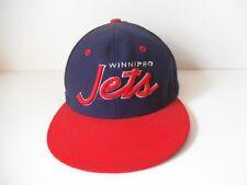 NHL Winnipeg JETS Team MENS SPORT SNAPBACK HAT Vintage 1993 Wool Zephyr Z Cap
