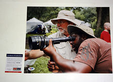 STEVE MCQUEEN 12 YEARS A SLAVE DIRECTOR SIGNED AUTOGRAPH 11X14 PHOTO PSA/DNA COA