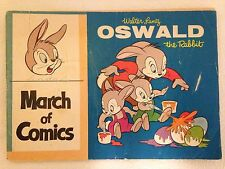 March of Comics 1958 Book Oswald the Rabbit Promotional Giveaway