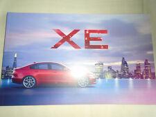 Jaguar XE brochure Oct 2014 ref JLM/10/02/86/1014