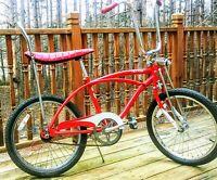 Vintage Hot Rod Muscle Bike