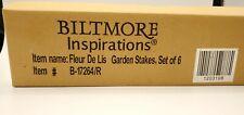 Biltmore Inspirations Fleur De Lis Garden Stakes, Garden Herbs plant