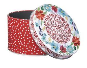 Pioneer Woman Decorative Tin - Red