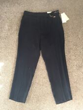 M&S PER UNA ROMA 87%LYOCELL TAPERED Leg trousers UK18 EU46 Regular BNWT RRP£45 N