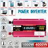 4000W Spannungswandler DC12V to AC230V Wechselrichter Inverter Wohnwagen 2 USB