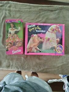 Barbie and Horse country western star barbie and horse nrfb