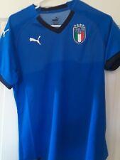 Puma Italy/italia Home 2018 Women's M/medium team power Blue/peacoat 752287-01