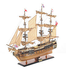 "HMS Surprise Tall Ship Model 37"" Built Sailboat Seen In Master & Commander"