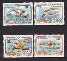 Ivory Coast : Olympic Games Atlanta 84 (1983) 4 v. MNH