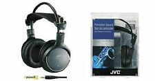 JVC Full Precision Sound 50mm Stereo Headphones 8Hz-25KHz 11.48 Foot Cord