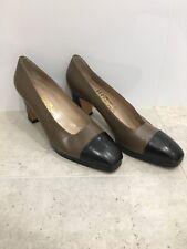 f837cae65ae Salvatore Ferragamo heels - US 9.5 B - Brown  Black Leather