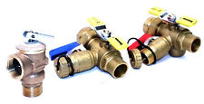 Valve Kit for Navien Tankless Heaters w Pressure Relief