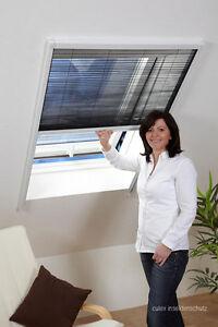 Culex Profi Dachfenster Plissee 80x160 Insektenschutz Fliegengitter Top-Qualität