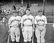 1934 Chicago Cubs Billy Herman Gabby Hartnett Freddie Lindstrom 8x10 Photo Print