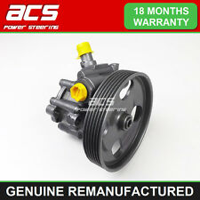 PEUGEOT EXPERT POWER STEERING PUMP 1.6 HDI 2007 TO 2012 - GENUINE RECONDITIONED